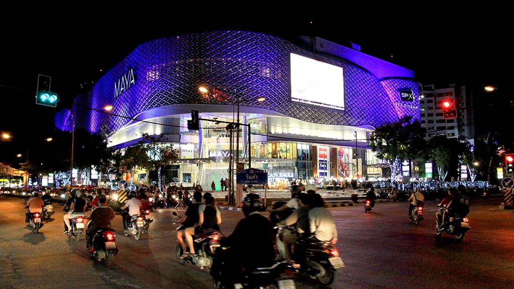 Maya shopping center, Chiang Mai.