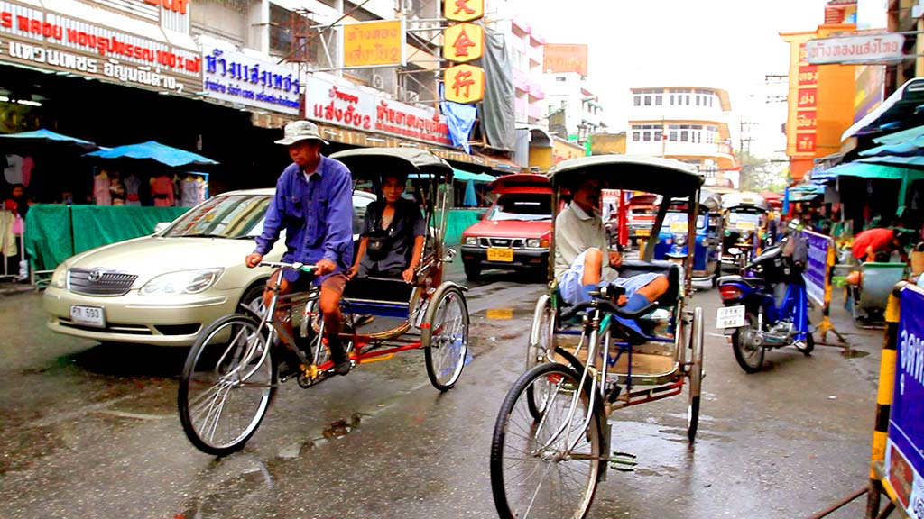 Chiang Mai street.