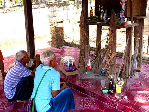 Shrine of the Guardian Spirit of the village.