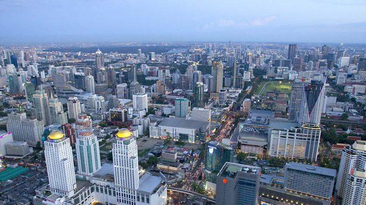 Baiyoke Tower, Bangkok.