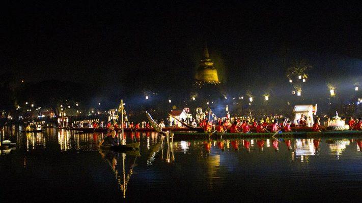 Loi Krathong, Sukhothai